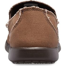 Crocs Santa Cruz Slip-On Hombre, marrón